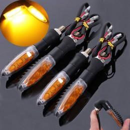 Mini piscas LED ligação a 12V