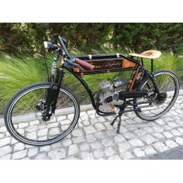 Bicicleta modelo vintage